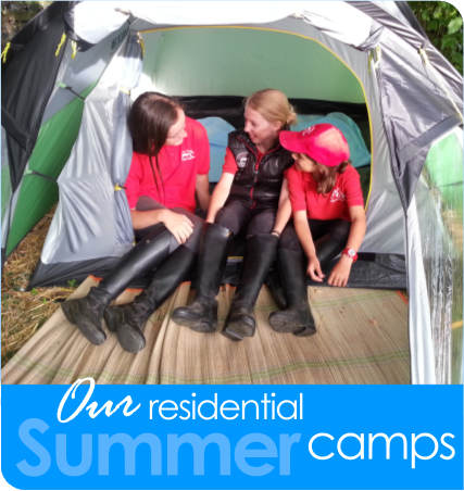 Our residential summer camps...